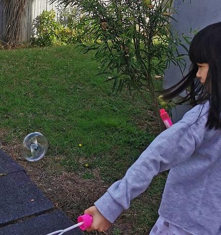 DIY bubble lockdown activity