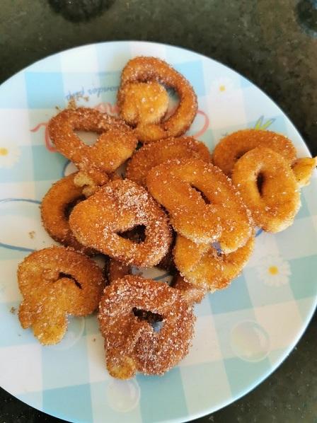 Lockdown recipe country fair donuts