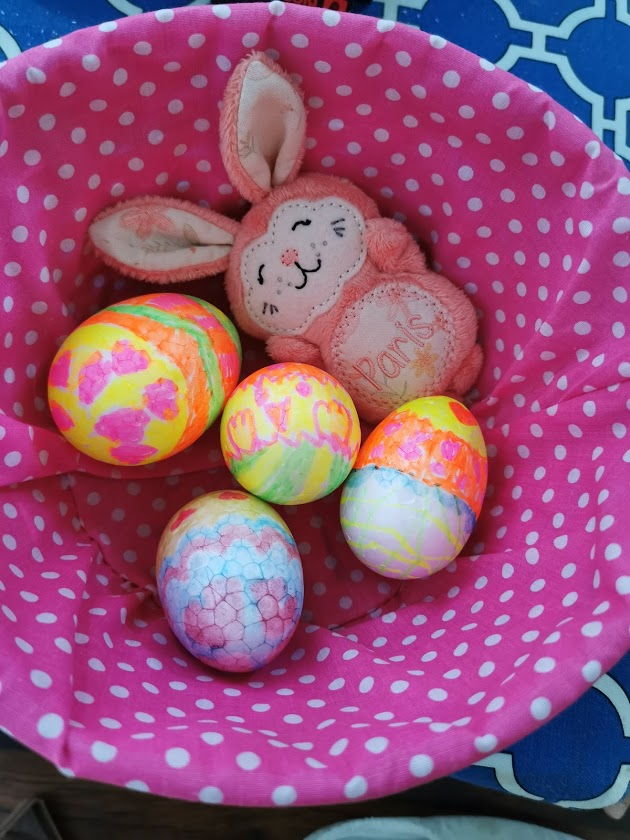 Easter eggs in lockdown