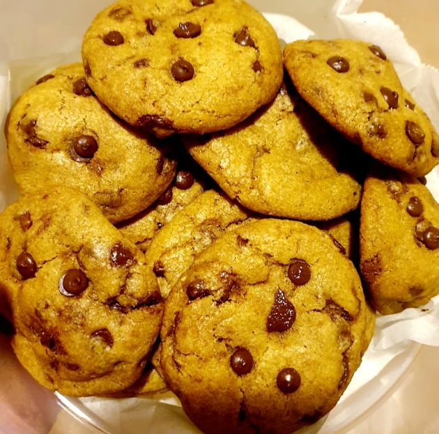 chocolate chip cookies for lockdown baking